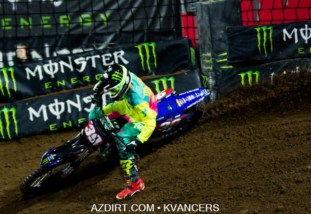 2nd Place - Colt Nichols #39 Star Racing Yamaha