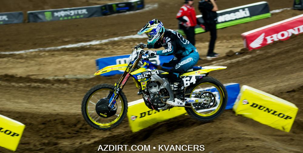 5th Place Jimmy Decotis #64 JGR Suzuki
